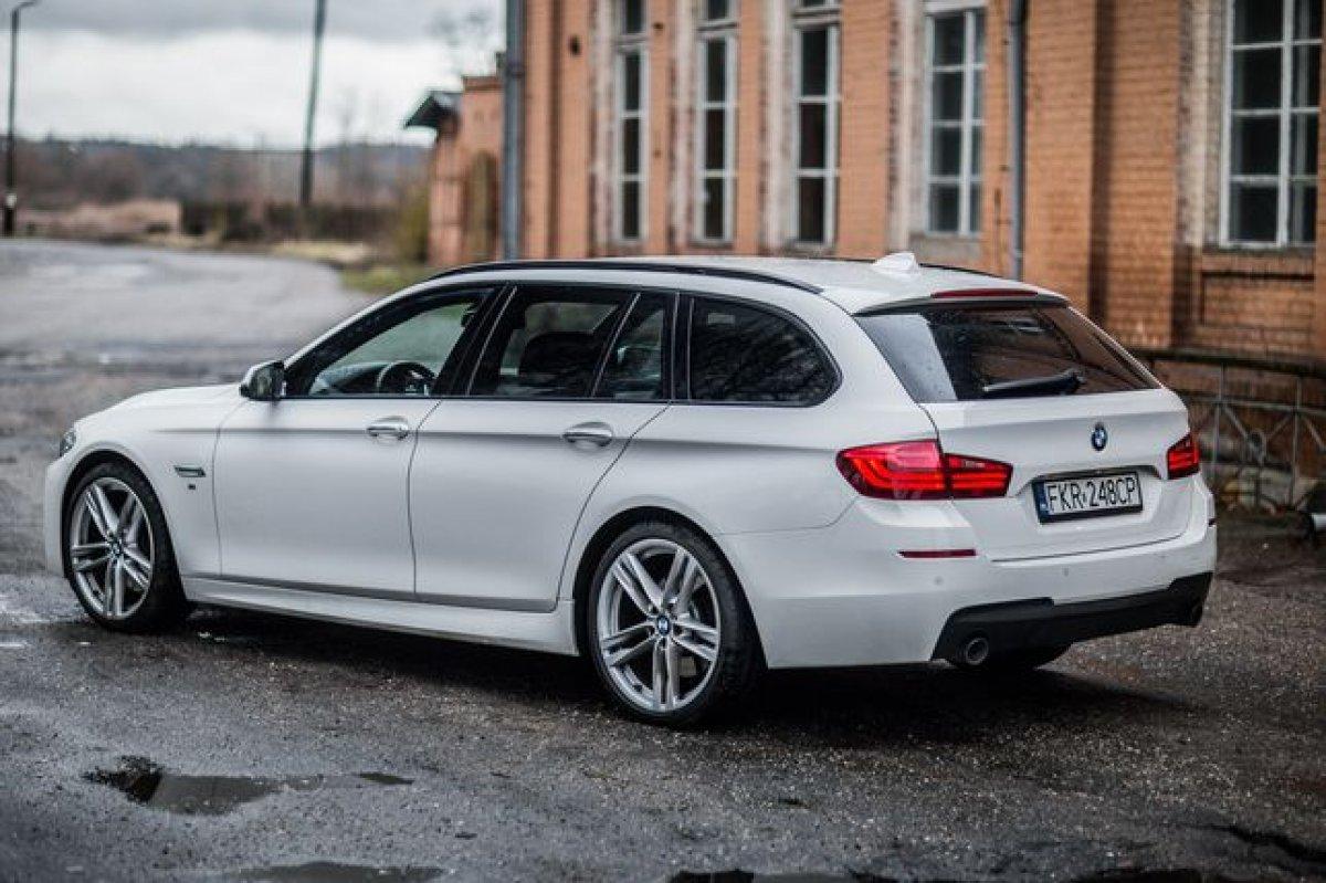 BMW F11 LCI 313km Head Up Automat M-Pakiet Dociągi Nowy Rozrząd !