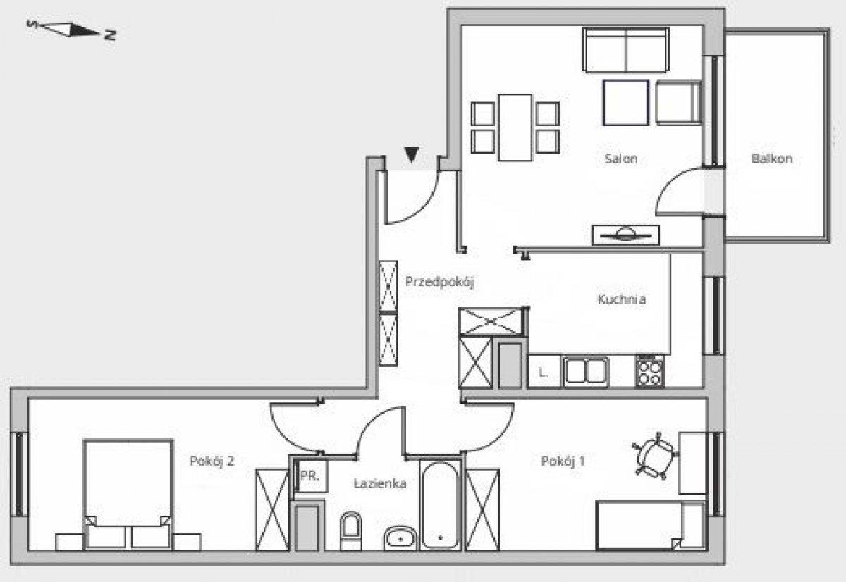 Mieszkanie 3 pokojowe, w pełni umeblowane, bez pośredników!