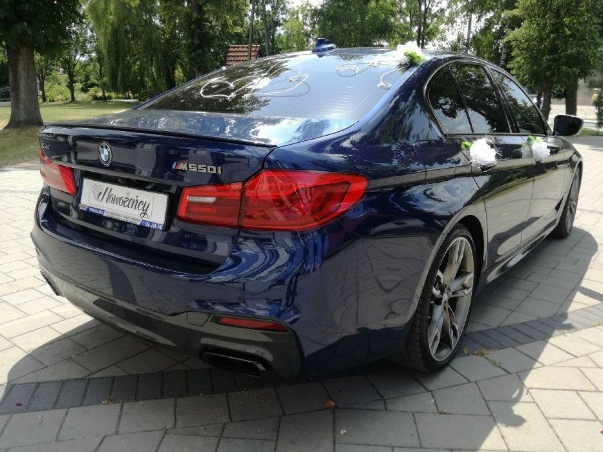 Auto do Ślubu Wesele Wynajem BMW M5 G30 M550i M-Performance Wypożycz !
