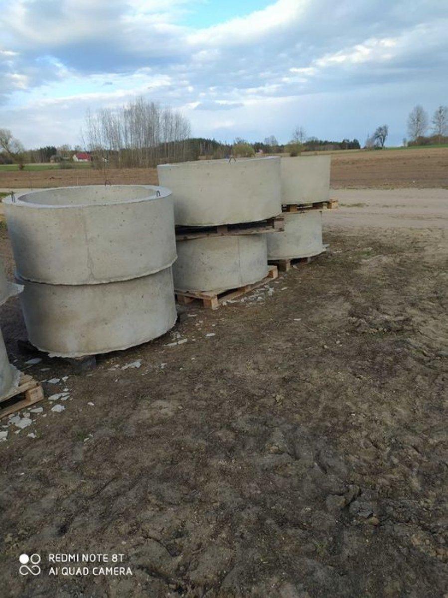 Sprzedam kręgi betonowe