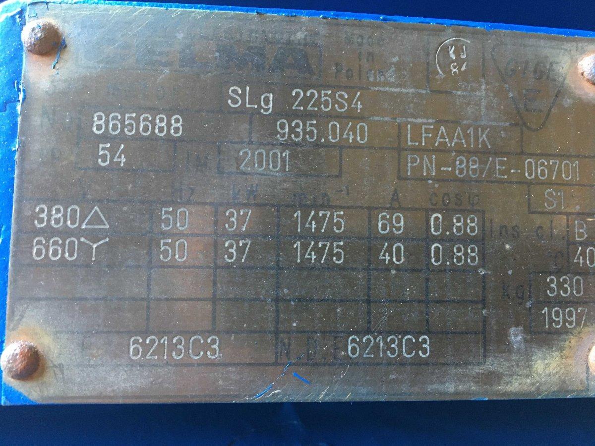 Silnik elektryczny 37 kW 1480 obr/min