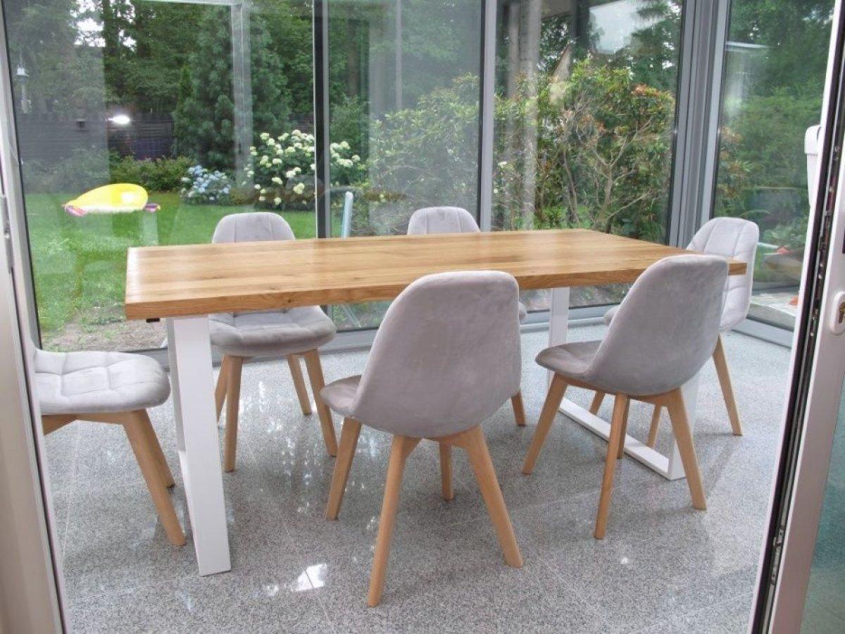 Stół dębowy lity producent loft 90x180 inne wymiar