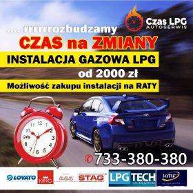 Montaż Serwis i Naprawa instalacji gazowych  LPG