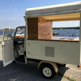 Piaggio lodziarnia food truck