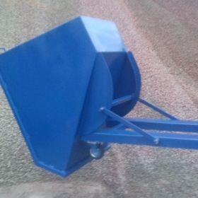 Koleba Pojemnik stalowy Kosz Kontener 1200 litrów