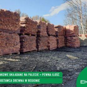 BUK DĄB BRZOZA Drewno kominkowe opałowe | Transpor