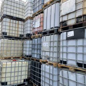 Zbiorniki IBC 1000l zbiornik mauser paletopojemnik